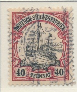 German South West Africa Stamp Scott #19, Used - Free U.S. Shipping, Free Wor...
