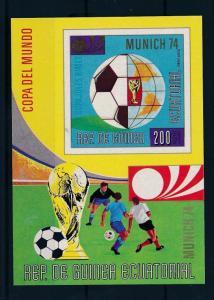 [45041] Equatorial Guinea 1973 World Cup Soccer Football Germany MNH Sheet
