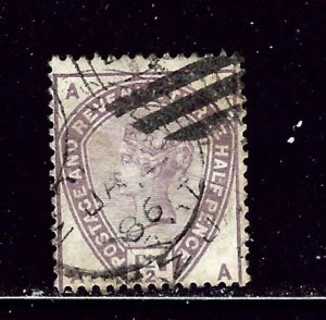 Great Britain 99 Used 1884 issue    #2