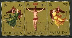 Barbuda MNH Strip 94a Easter Raphael Paintings