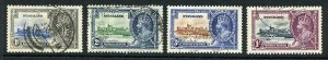 Nyasaland SG123/26 1935 Silver Jubilee Set Used
