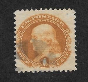 112 Used 1c. Franklin, Brown-Orange, Free, Insured Shipping