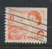 Canada SG 606 perf 12½ x 12  ex booklet Used
