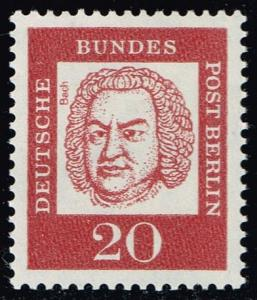 Germany #9N181 Johann Sebastian Bach; MNH (0.25)