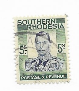 South Rhodesia #54 Used - Stamp - CAT VALUE $3.50