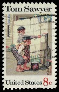 US #1470 Tom Sawyer; Used (0.25)