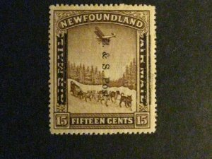 Newfoundland #211 mint hinged light toned spots on gum a1910.9805