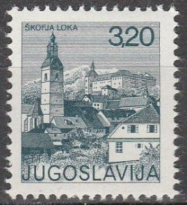 Yugoslavia #1249   MNH (K822)