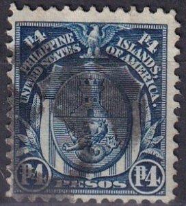 Philippines #273 F-VF Used  CV $110.00 (Z3838)