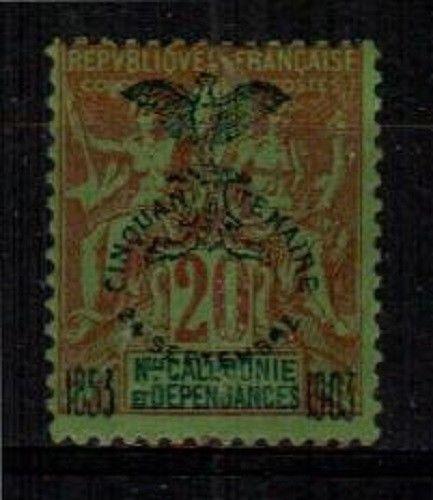 New Caledonia Scott 74 Mint hinged (Catalog Value $22.00)