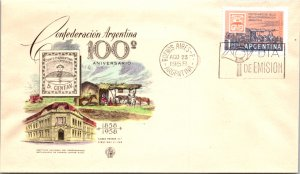 Argentina, Worldwide First Day Cover