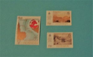 Ascension - 266-68, MNH Set. Royal Geographical Society. SCV - $1.60