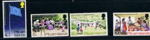 Pitcairn Isl.SC123-126 SouthPacificComm.Flag-Elem.Ed.Health Care MH 1972