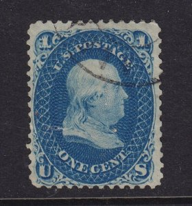 63 F-VF used neat cancel with nice color cv $ 45 ! see pic !