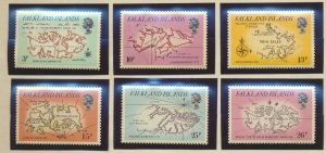 Falkland Islands Stamps Scott #318 To 323, Mint Never Hinged - Free U.S. Ship...