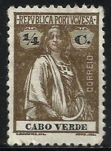 Cape Verde 1914 Scott# 144 MH