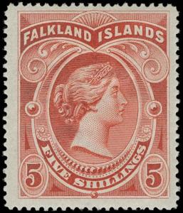 Falkland Islands Scott 21 Gibbons 42 Mint Stamp