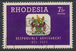 Rhodesia   SG 486   SC# 326  Used  Responsible Government 1973 see details