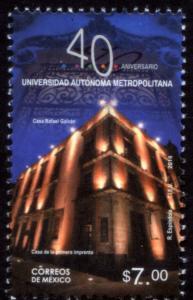 MEXICO 2890Var, Autonomous Metropolitan Univ 40th Anniv MNH