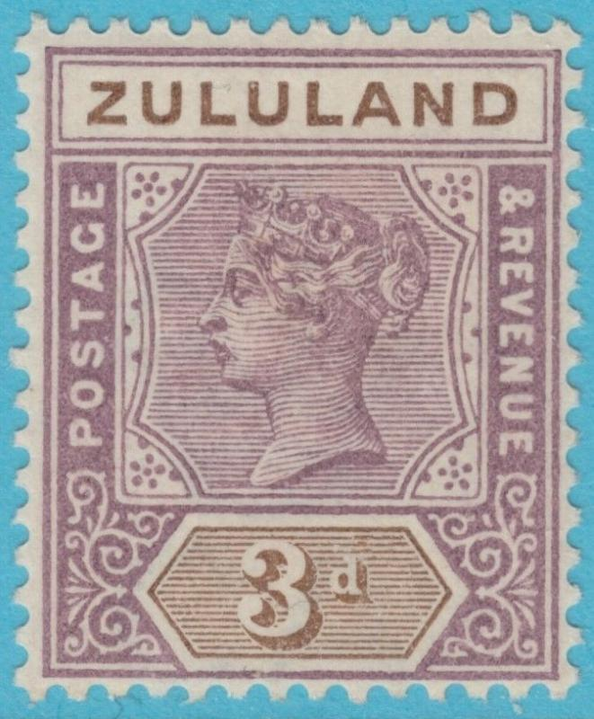 ZULULAND 18  MINT HINGED OG *  NO FAULTS EXTRA FINE !