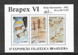 Brazil #2000A MNH Souvenir Sheet