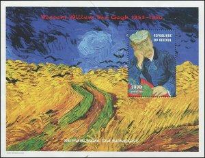 Senegal 1999 Mi B1106 Art Paintings Van Gogh