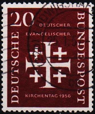 Germany. 1956 20pf S.G.1162 Fine Used