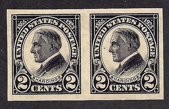 611 Mint,OG,NH... Pair... SCV $21.00