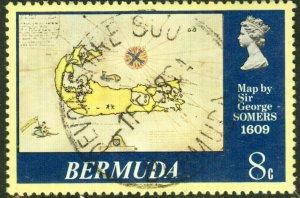 Bermuda  #380  Used