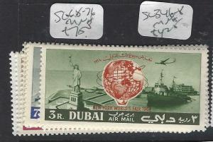 DUBAI   (P1404B)  NY FAIR  SG 68-76   MNH