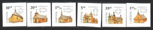 Lithuania. 2008. 954-59. Architecture. MNH.