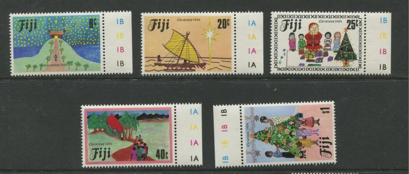 Fiji - Scott 518-522 - General Issue -1984 - MNH - Set of 5 Stamps