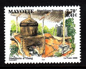 Mayotte MNH Scott #142 2.70fr Ylang Distillery