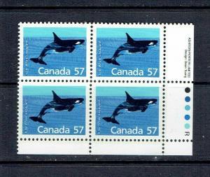 CANADA - 1988 KILLER WHALE - LRPB - SCOTT 1173 - MNH