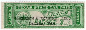 (I.B) US Revenue : Liquor Tax 5c (Texas)