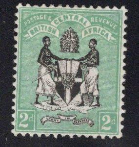 British Central Africa Scott 2 MH* stamp