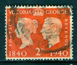 Great Britain; 1940: Sc. # 255: O/Used Single Stamp