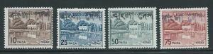 Bangladesh Pakistan Overprint 134a 136a 138a-9a Gardens M...