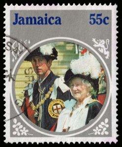 Jamaica - Scott 600 - Used - Staining