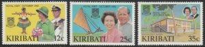 Kiribati #414-416 MNH Full Set of 3