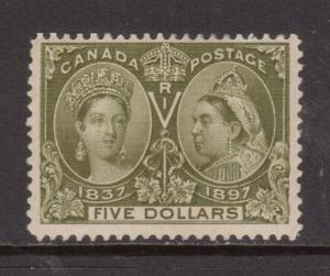 Canada #65 Mint Fine Full Original Gum Hinged