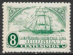 Uruguay  (1945)  - Scott # C115,  MNH