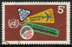United Nations New York 1967 Scott# 175 Used