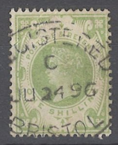 COLLECTION LOT OF # 1948 GREAT BRITAIN #122 1887 CV+$72.50