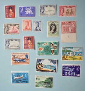 FIJI SETS AND SINGLES MINT AND USED  NO FAULTS EXTRA FINE!  fi992