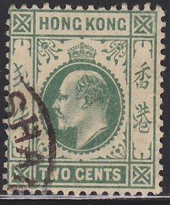 Hong Kong, King Edward VII, Sc. 88, used