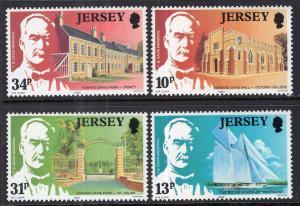 Jersey 372-375 MNH VF