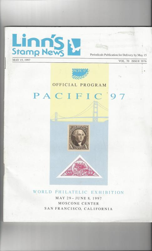Linn's Stamp News May 15, 1997 Official Program Pacific 97