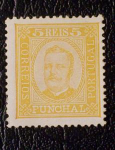 Funchal Scott #1 unused