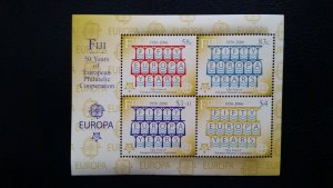 50th anniversary of EUROPA stamps - Fiji - 1x Bl perforated ** MNH